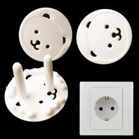 10X EU Plug Outlet Socket Cover Anti Electric Shock Baby Kids Child Safety Guard