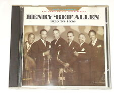 Henry Red Allen-CD - 1929 to 1936-Great Britain 1990-BBC CD 685