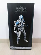 EMS 1/6 scale Sideshow Star Wars Clone Trooper Deluxe 501st