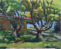 "Landscape Oil Painting, 16""x20"", Original Signed"