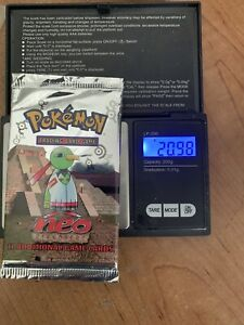 Pokemon Neo Discovery Sealed Booster Pack - Possible Heavy