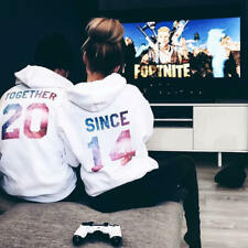 Together Since Matching Couple Hoodie Valentine's Day Gift His & Hers Hoodies