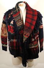 Ralph Lauren Indian Chief Americana Flag Sweater Cardigan M Shawl New  $798 A2B