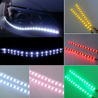 2PC Waterproof 12 LEDs 30cm 5050 SMD LED Strip Light Flexible 12V Home Car Decor