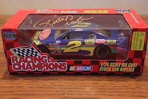1996 Autographed Ricky Craven #2 Dupont Teflon Chevrolet diecast car