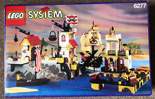 Lego System Set 6277 Imperial Trading Post Set Box With Card Inserts.