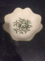 Lenox Holiday Candy Dish