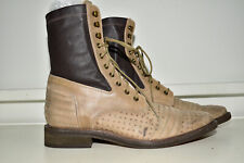 Free People Boot Lace Up Leather Women's 41
