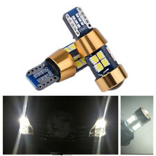 2pcs White T10 Wedge 12V-24V 19-SMD 3030 LED Light Bulbs Error Free