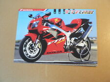 A846 FLYER PICTURE HONDA VTR1000 SP-1 HONDA COME RIDE WITH US MOTORCYCLE