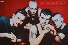 EAST 17 - A3 Poster (ca. 42 x 28 cm) - Clippings Fan Sammlung NEU