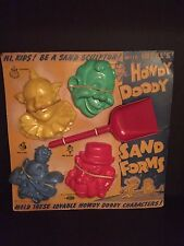 "1950's Howdy Doody, ""Un-Used"" Sand Forms"