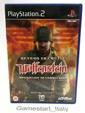 RETURN TO CASTLE WOLFENSTEIN OPERATION RESURRECTION - SONY PS2 - USATO PAL