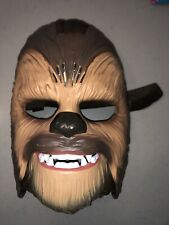 More details for star wars b3226 the force awakens chewbacca electronic mask