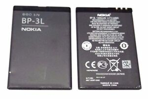 OEM Battery BP-3L 1300mAh Replacement For Lumia 710 Asha 603 505 510 303 610