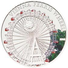 Palau 2012 Vienna Ferris Wheel 5 Dollars Silver Coin,Proof