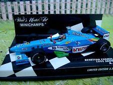 1/43   Minichamps  Formula  1 Benetton Showcar1999 Wurz