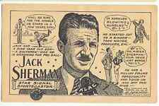 1947 Signal Gasoline PCL BB Jack Sherman Hollywood