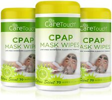 Care Touch CPAP Mask Cleaning Wipes - Scented (3 Pack)| 210 Scented Mask Cleanin