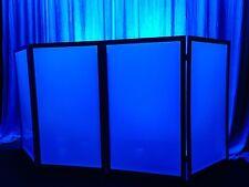 TOP SELLER! 4 Panel BLACK DJ Booth/ Facade Front Board