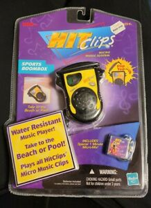 Hit Clips Micro Music System Troggs Wild Thing Sports Boom Box Tiger Electronics