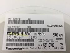 (250 pcs)Panasonic–ECJ-2VB1H153K, .068uF 50V 10% size:0805, Chip Capacitor(MLCC)