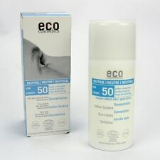 (19,69/100ml) Eco Cosmetics Neutral Sonnenlotion LSF 50 ohne Parfum 100 ml