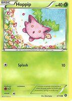 POKEMON XY STEAM SIEGE CARD - HOPPIP 3/114