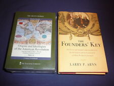 Teaching Co Great Courses DVDs    ORIGINS IDEOLOGIES AMERICAN REVOLUTION + bonus