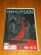 INHUMAN #5 MARVEL COMICS NM (9.4)