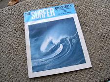 Vintage Surfer quarterly surfing magazine vol 2 # 1 rare 1960s signed surf John
