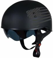 Torc T55 Black Flag Helmet with Inner Sun Shield DOT XS-2XL