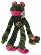 Peace Love Frog Pretty In Pink Dangerous In Camo Hanging Plush Embroidered NEW