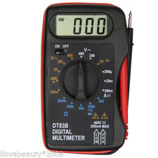 Mini DT83B Pocket type Digital LCD Multimeter Tester Battery Capacity Test