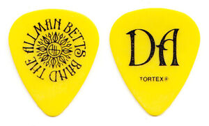 Allman Betts Band Devon Allman Signature Yellow Guitar Pick - 2019 Tour