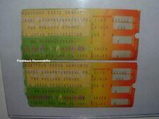 2 ROLLING STONES 1981 Concert Ticket Stub Lot HARTFORD CIVIC CENTER Very Rare