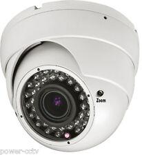 HD 1300TVL 2.8-12mm VariFocal Lens 36IR Infrared Vision CCTV Security Camera