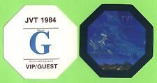 Michael Jackson-jvt 1984-CONCERTO-SCATOLA-pass - G-vip/guest oggetto da collezione