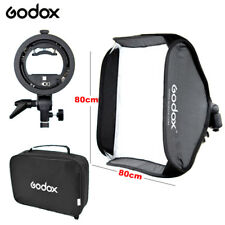 Godox Flash Softbox 80cm&S type Bracket Mount Kit for Speedlite Studio Shooting