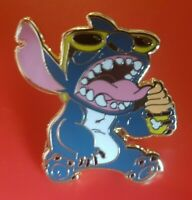 Lilo and Stitch Pin Ice cream Enamel Brooch Badge Lapel Cosplay TV Show