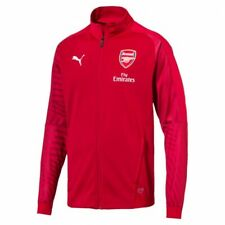 2018-19 Mens Arsenal FC Puma Stadium Track Jacket New With Tags Size S RRP $120