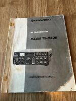 Kenwood TS-930S Original Instructuon Manual Only