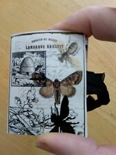 Mini Junk Journal Bees Butterfly OOAK Handmade