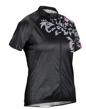 Cannondale Cycling Womens Molokai Jersey SS Black Small S