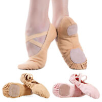 Women Ballet Shoes Girls Soft Ballet Pointe Shoes Fashion Comfort Dance Shoes