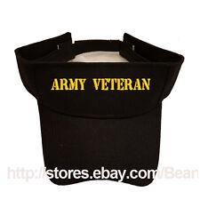 ARMY VETERAN SUN VISOR MILITARY LAW ENFORCEMENT