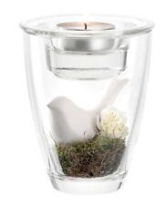 LEONARDO PRIMAVERA Glass Tealight Holder with Decoration - New