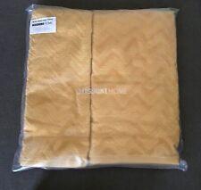 MISSONI REX TOWEL SET HAND AND BATH COLOUR 40 GOLDEN OCHRE  NEW