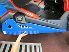 Pure Polaris Blue Low Profile Rock Sliders RZR1000 RZR900 RZR900S Turbo 2014-17