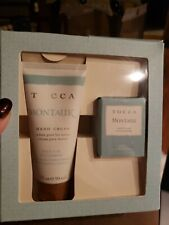 Tocca Montauk Salt Air Cucumber Gift Sets 3 oz Hand Cream, 1.2 oz Candle NEW!